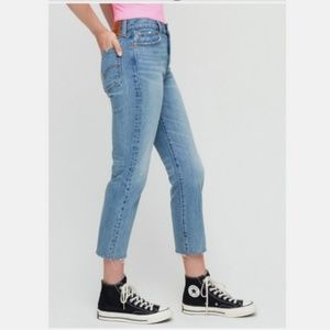 Levi's Wedgie Straight Jeans in Rough Tide